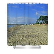 St Helens Beach Shower Curtain