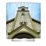 St. Ignatius Of Loyola Church And Cemetary Shower Curtain