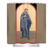 St. Isaac Jogues, Sj - Rlisj Shower Curtain