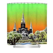 St. James Cathedral New Orleans Shower Curtain