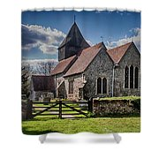 St James The Great Elmsted Shower Curtain