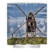 St. Janshuis Windmill Shower Curtain