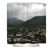 St. Jean Pied De Port Shower Curtain