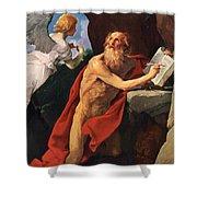 St Jerome Shower Curtain