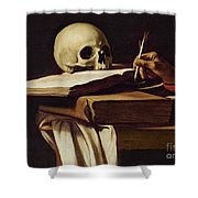 St. Jerome Writing Shower Curtain