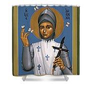 St. Joan Of Arc - Rljoa Shower Curtain