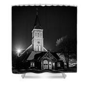 St Joes Church Mandan 4 Shower Curtain