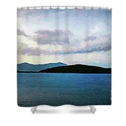 St John - Ocean Vista Shower Curtain