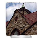 St John On The Point Shower Curtain