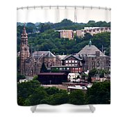 St John The Baptist Church Manayunk Philadelphia Shower Curtain