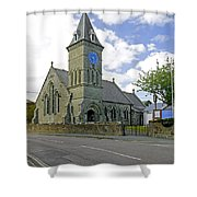 St John The Evangelist Church At Wroxall Shower Curtain by Rod Johnson