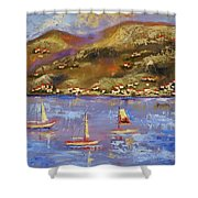 St. John Usvi Shower Curtain