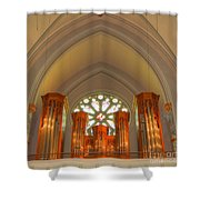 St. John's Cathedral Organ Shower Curtain