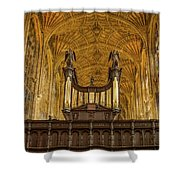 Kings College Chapel Shower Curtain