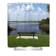 St Johns River In Florida Shower Curtain