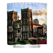 St. Joseph Cathedral Hanoi Vietnam   Shower Curtain