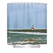 St. Joseph Pier Shower Curtain