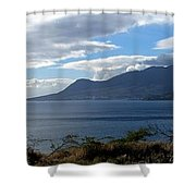 St Kitts Vista Shower Curtain