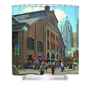St Lawrence Market Shower Curtain