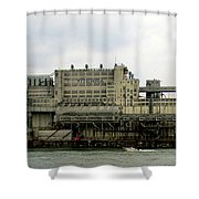 St Lawrence Sunset 1 Shower Curtain