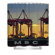 St Lawrence Sunset 2 Shower Curtain