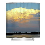 St Lawrence Sunset 4 Shower Curtain