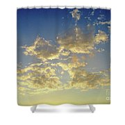 St Lawrence Sunset 6 Shower Curtain
