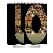 St. Louis 1859 Shower Curtain