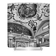 St. Louis Cathedral 2 Monochrome Shower Curtain