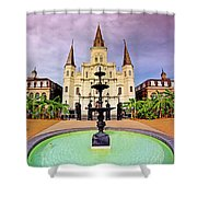 St. Louis Cathedral - New Orleans - Louisiana Shower Curtain