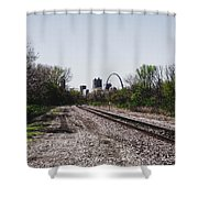 St. Louis From The East Side Shower Curtain