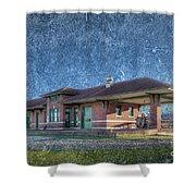 St Louis Iron Mountain Depot Shower Curtain