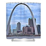 St Louis Panoramic View Shower Curtain