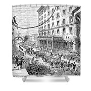St. Louis: Parade, 1872 Shower Curtain
