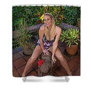 St Lucia Darcy 36 Shower Curtain