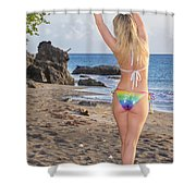 St Lucia Darcy 38 Shower Curtain