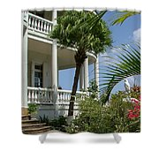 St Lucia Overlook Shower Curtain