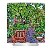 St. Luke Garden Sanctuary Shower Curtain