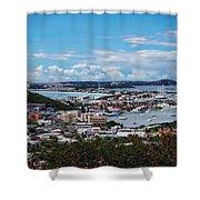 St. Maarten Landscape Shower Curtain