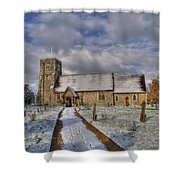 St Margarets Church Ridge Hertfordshire Shower Curtain