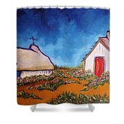 St Maries Shower Curtain by Chaline Ouellet