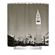 St Marks Square Shower Curtain