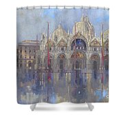 St Mark's -venice Shower Curtain by Peter Miller