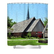 St Martin Of Tours Shower Curtain