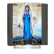 St Mary Of The Valley Shower Curtain