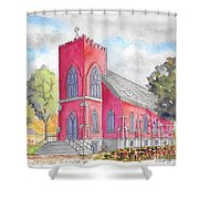 St. Mary's Catholic Church, Oneonta, Ny Shower Curtain