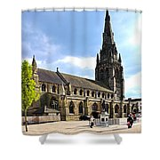 St Mary's Church At Lichfield Shower Curtain