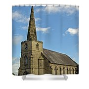 St Mary's Church - Coton In The Elms Shower Curtain