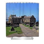 St Mary's Church - Whitby Shower Curtain