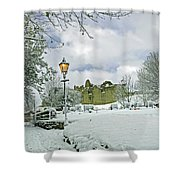St Mary's Churchyard - Tutbury Shower Curtain